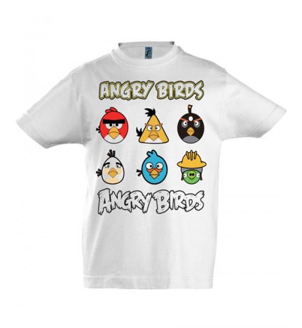 Футболка для мальчика Angry Birds 5