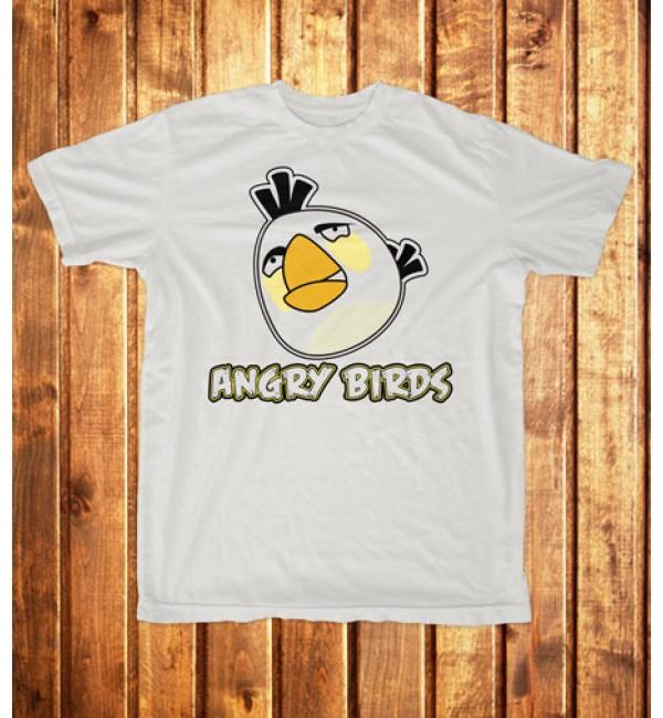 Мужская футболка Angry Birds белый