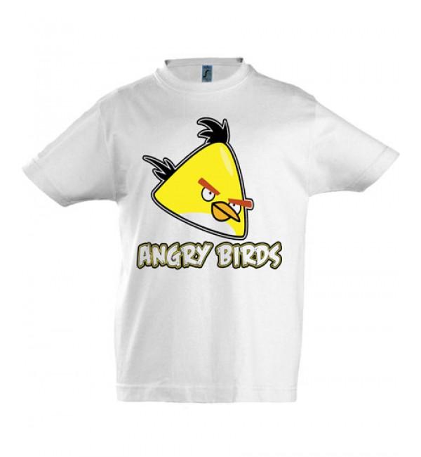 Футболка для мальчика Angry Birds желтый