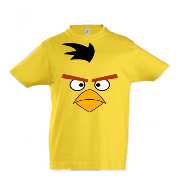 Детская футболка  Большая желтая птица