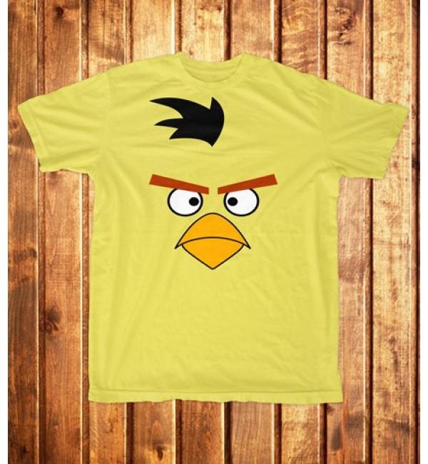 Футболка мужская Огромная желтая птица