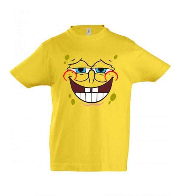 Детская футболка Спанч Боб улыбочка