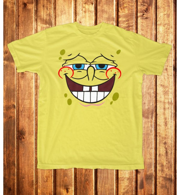 Футболка мужская Спанч Боб улыбочка