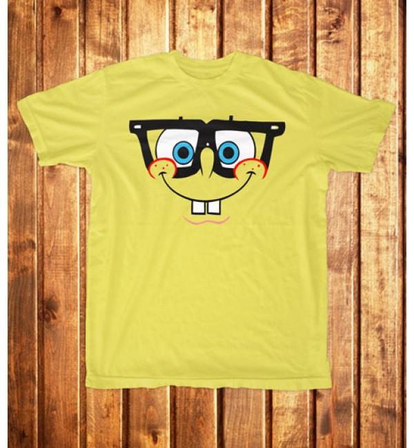 Футболка мужская Спанч Боб в очках
