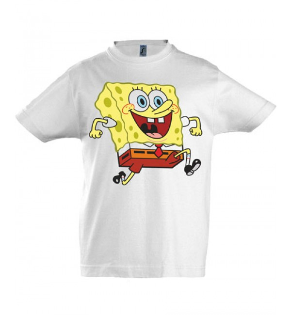 Детская футболка  Спанч Боб 10
