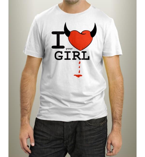 Футболка мужская I your Girl