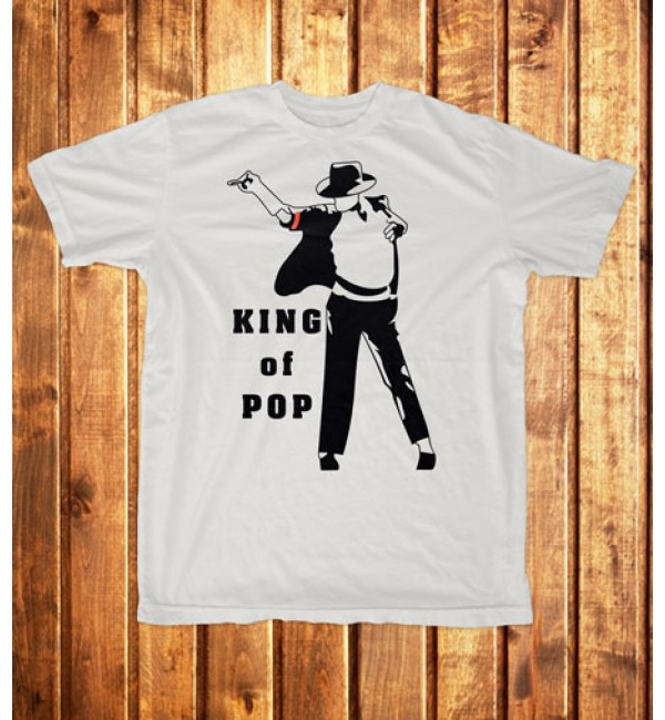 Футболка мужская King of pop