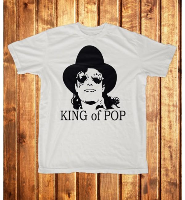 Футболка мужская King of pop 1