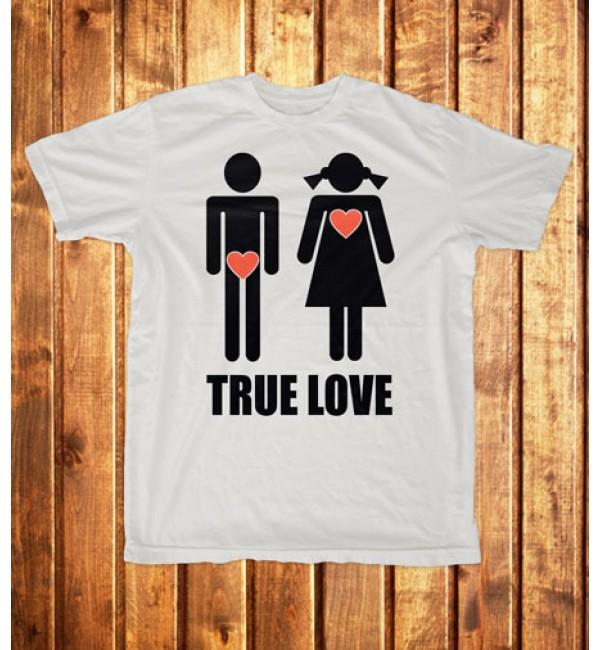 Футболка мужская True love