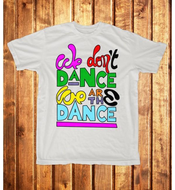 Футболка мужская We don't dance