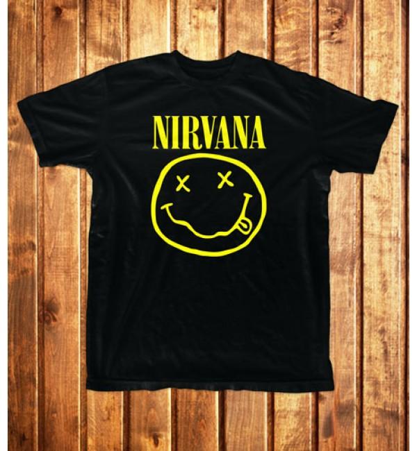 Футболка мужская Nirvana. Logo