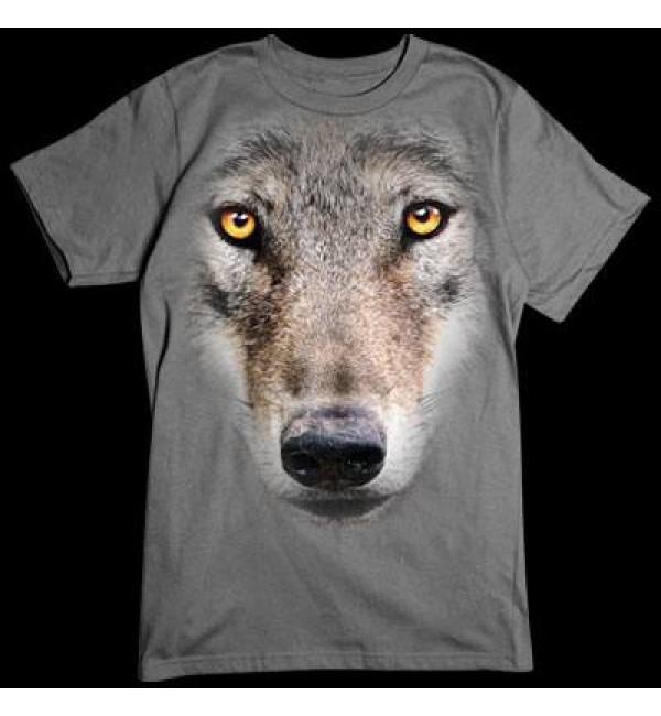 3D футболка Волк