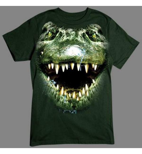 3D футболка Крокодил