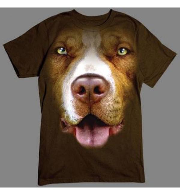 3D футболка Питбуль