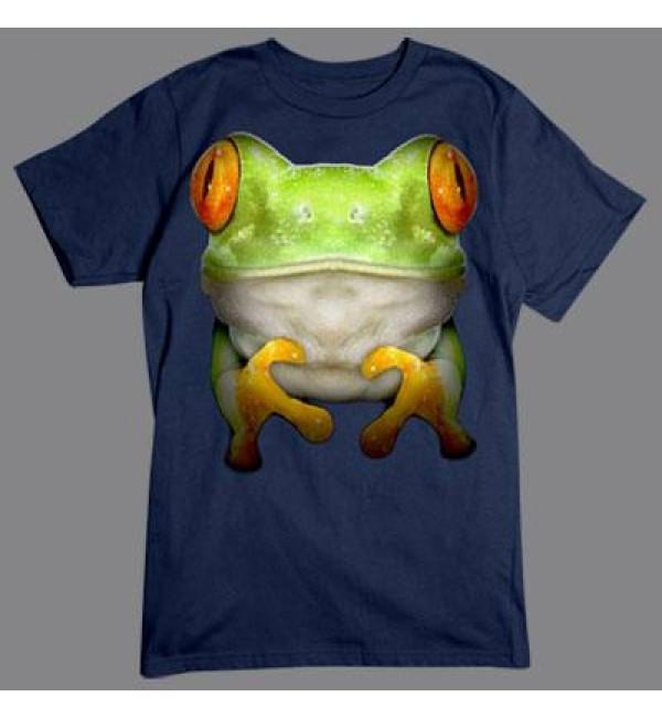 3D футболка Лягушка