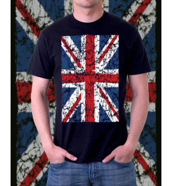 Мужская футболка Английский флаг