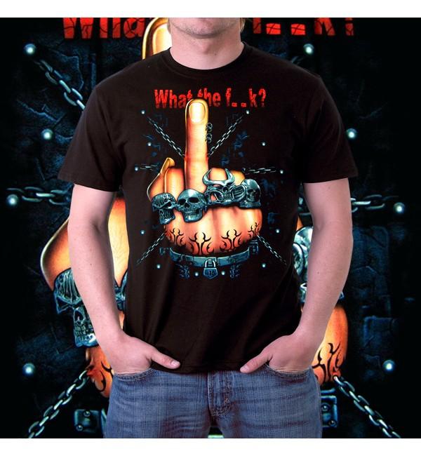Мужская 3d футболка What the f..k
