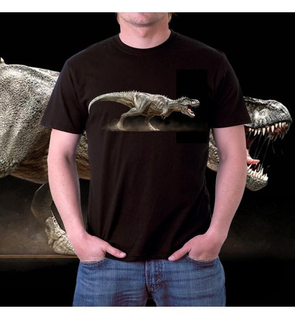 Футболка 3д мужская Динозавр