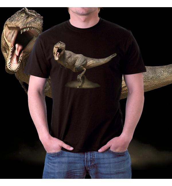 3d футболка мужская Динозавр 2