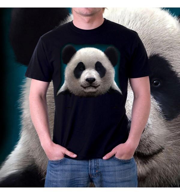Мужская 3д футболка Панда