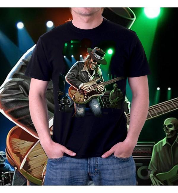 Мужская футболка 3d Texas Blues