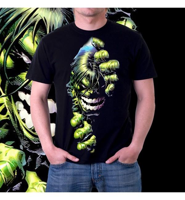 Мужская футболка 3д Зомби