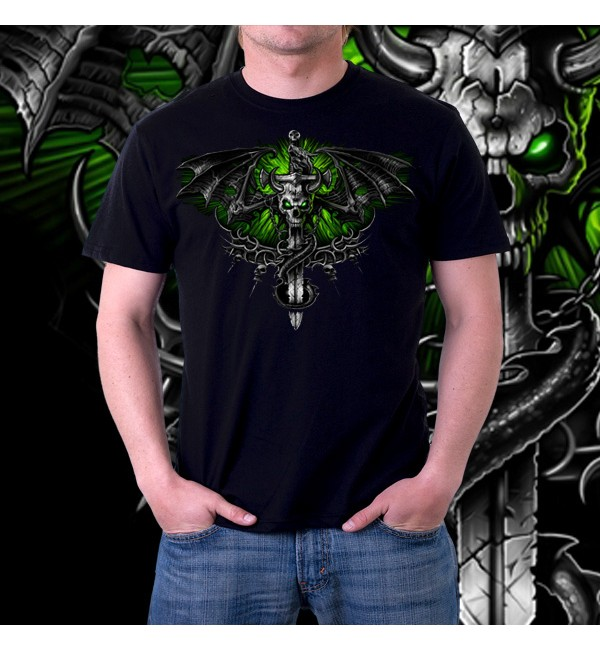 Мужская футболка 3д Fantasy