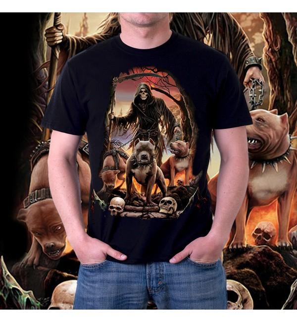 Мужская футболка 3д Deaths Pack
