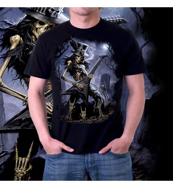 Мужская футболка 3д Play Dead