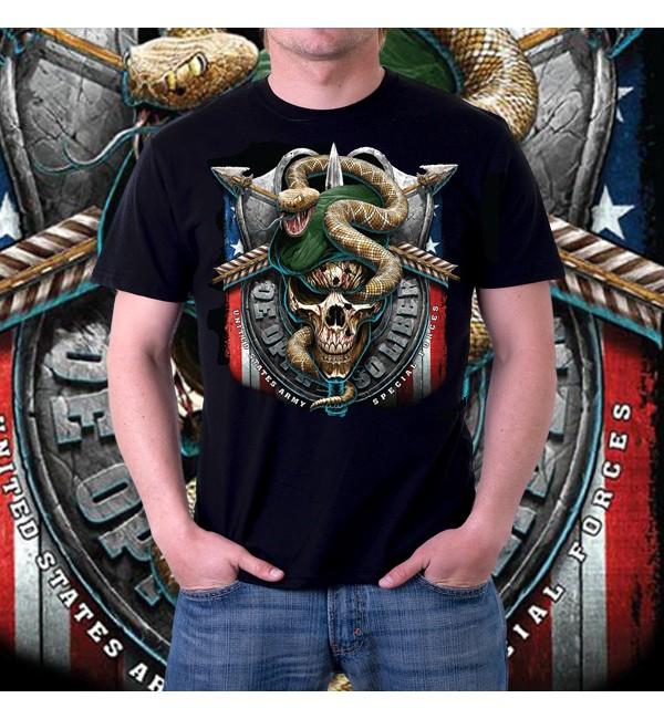 Мужская футболка 3d USA special forces
