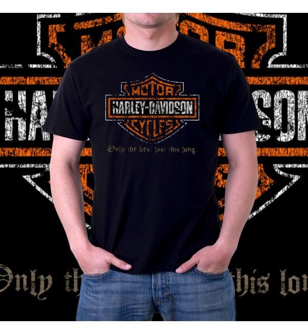 Мужская 3d футболка Harley davidson
