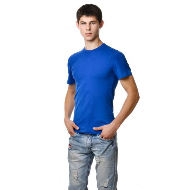 Мужские синие футболки