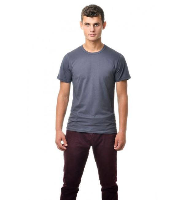 Серые мужские футболки