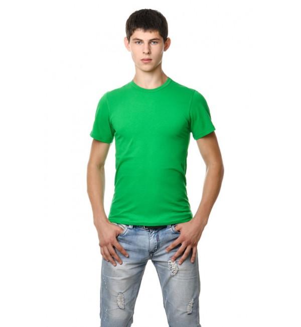 Зеленые мужские футболки