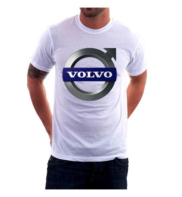 Футболка мужская  Volvo Logo
