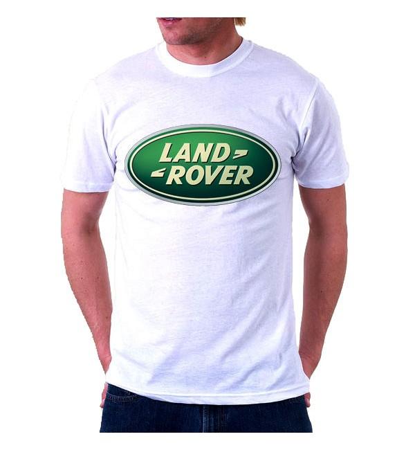 Футболка мужская  Land Rover