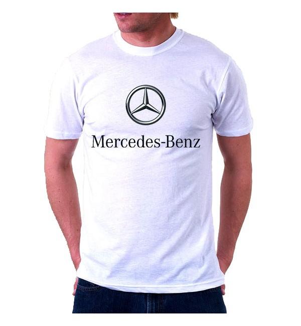 Футболка мужская  Mersedes-Benz Logo