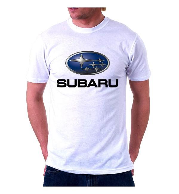 Футболка мужская  Subaru