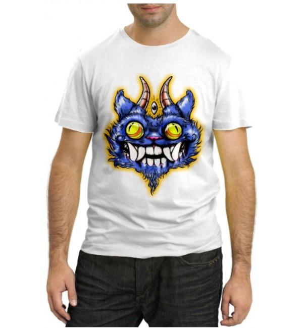 Модная футболка Синий Дракон