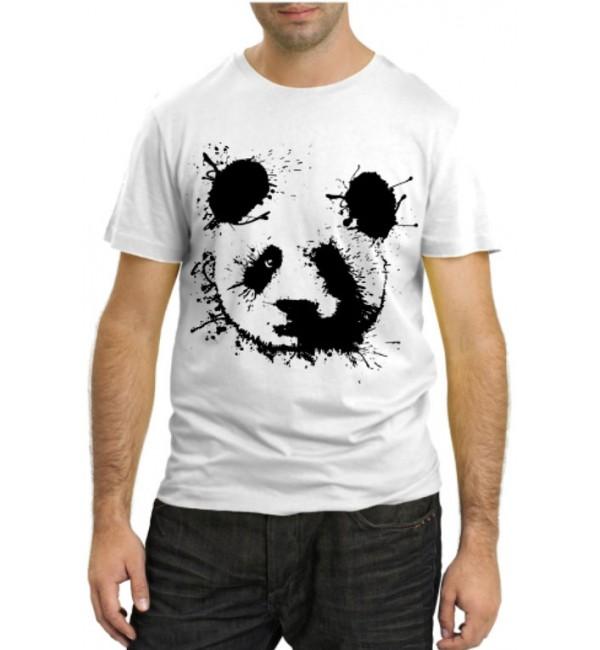 Модная футболка Панда