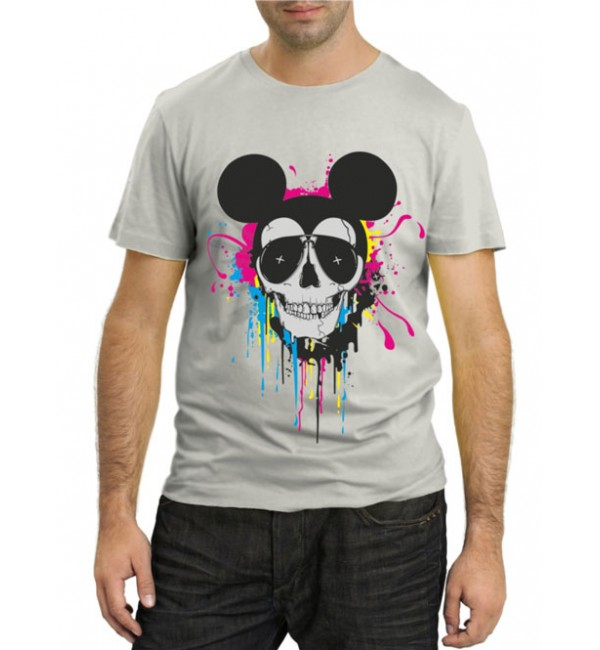 Модная футболка Злой Микки