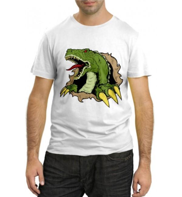 Модная футболка Дракон из недр