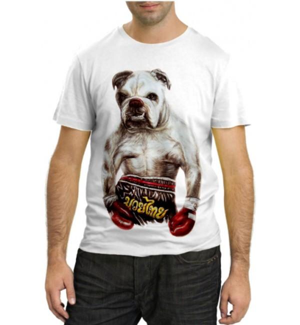 Модная футболка Собака Боксер
