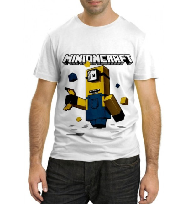 Модная футболка Minioncraft