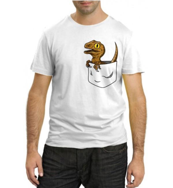 Модная футболка Динозаврик в кормашке