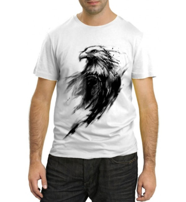 Модная футболка Орел