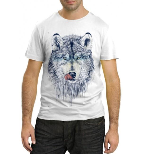 Модная футболка Волчара