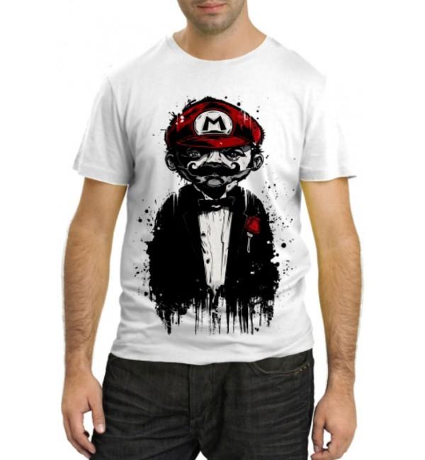 Модная футболка Супер Марио