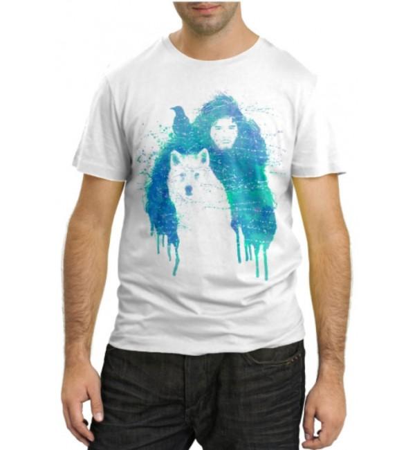 Модная футболка На охоте