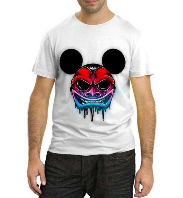 Модная футболка Злобный Маус